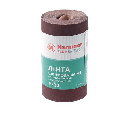 Шкурка шлифовальная в рулоне HAMMER 216-006