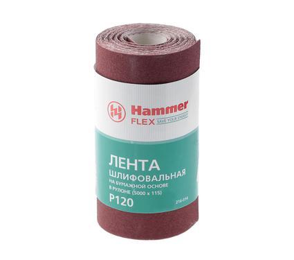 Шкурка шлифовальная в рулоне HAMMER 216-014