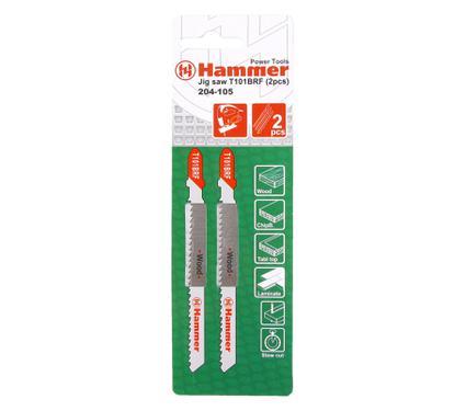 Пилки для лобзика HAMMER JG WD T101BRF (2шт.)