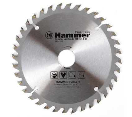 Диск пильный твердосплавный HAMMER 130х20/16мм 36 зуб.