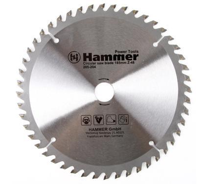 Диск пильный твердосплавный HAMMER 185х20/16мм 48 зуб.