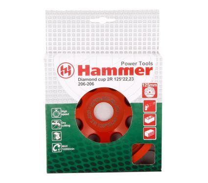 Чашка шлифовальная HAMMER CUP 2R 125*22мм