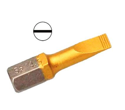Бита HAMMER PB SL-0,6*4,5 25мм (2шт.)