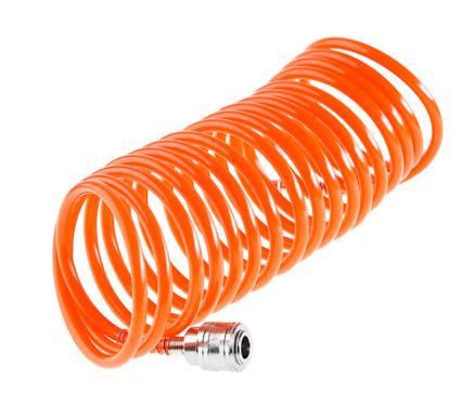 Шланг WESTER 814-007 пневматический спиральный