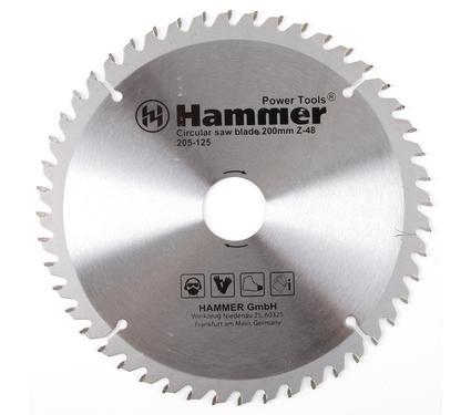 Диск пильный твердосплавный HAMMER 200х32/30мм 48 зуб.