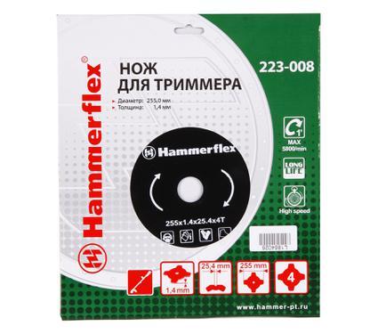 Нож для газонокосилок HAMMER 223-008