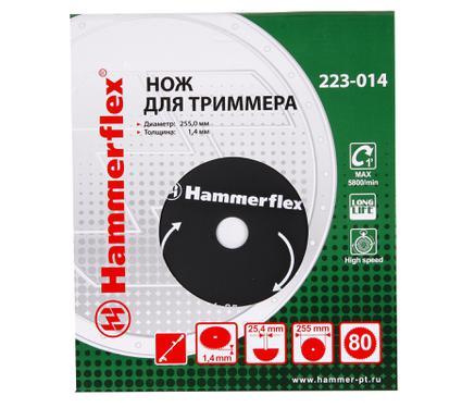 Нож для газонокосилок HAMMER 223-014