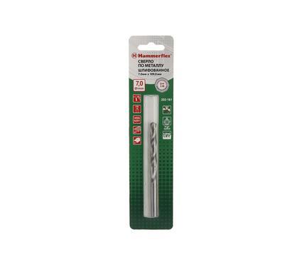 Сверло по металлу HAMMER 202-161 DR MT 7,0мм*109мм