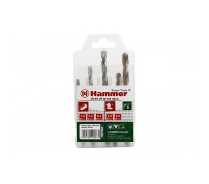 Набор сверл HAMMER подарок DR set No6 (5pcs) 5-8мм