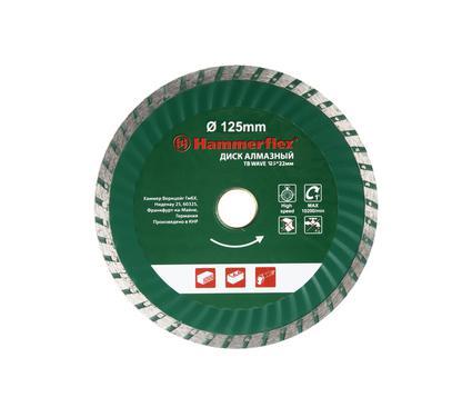 Круг алмазный HAMMER 206-117 DB TB WAVE 125*22мм