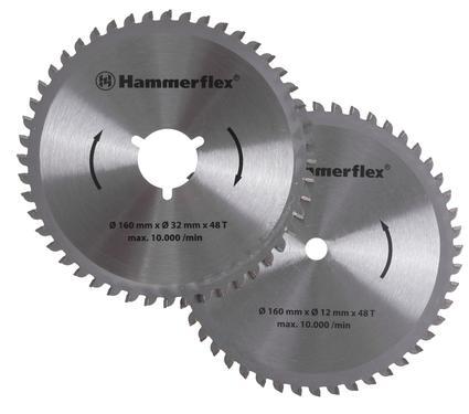 Диск пильный твердосплавный HAMMER 206-161