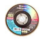 Круг Лепестковый Торцевой (КЛТ) ЛУГА-АБРАЗИВ КЛТ1 125 Х 22 Р180 (№8)
