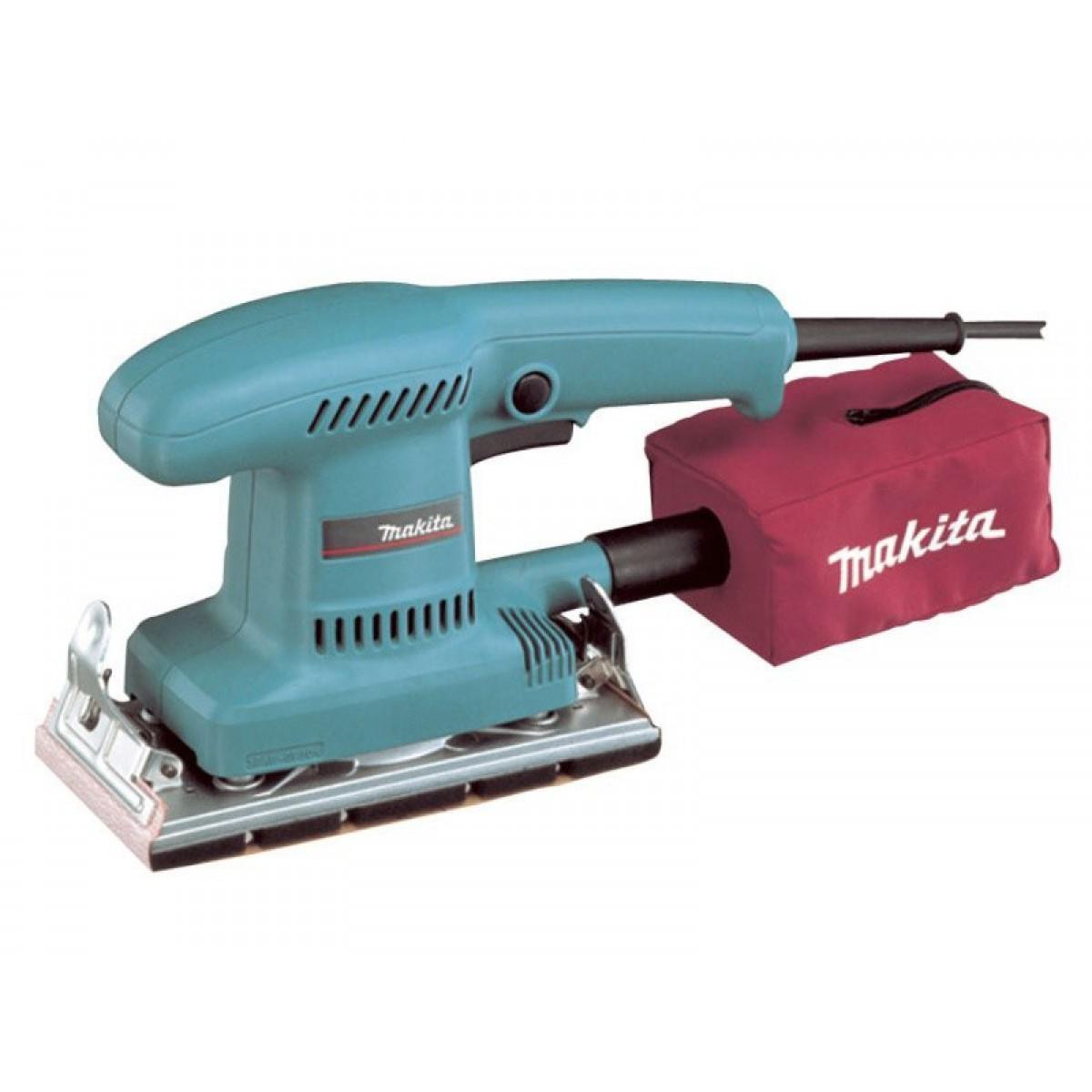 Машинка шлифовальная плоская (вибрационная) Makita Bo3700 машинка шлифовальная плоская вибрационная bosch gss 23 ae 0 601 070 721