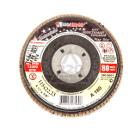 Круг Лепестковый Торцевой (КЛТ) ЛУГА-АБРАЗИВ КЛТ1 115 Х 22 Р180 (№8)