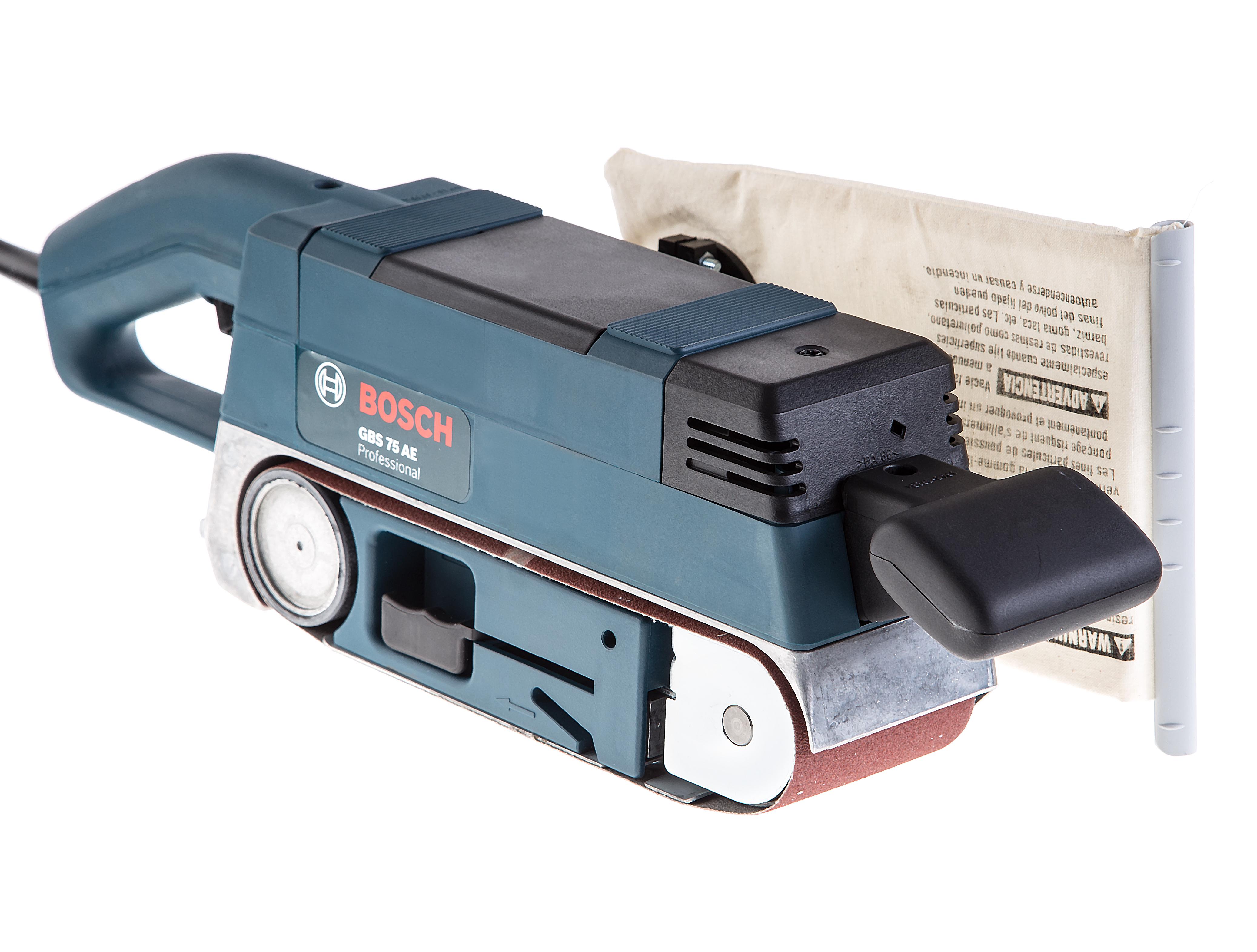 Машинка шлифовальная ленточная Bosch Gbs 75 ae (0.601.274.708)