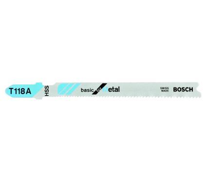 Пилки для лобзика BOSCH T118A (2608631013)