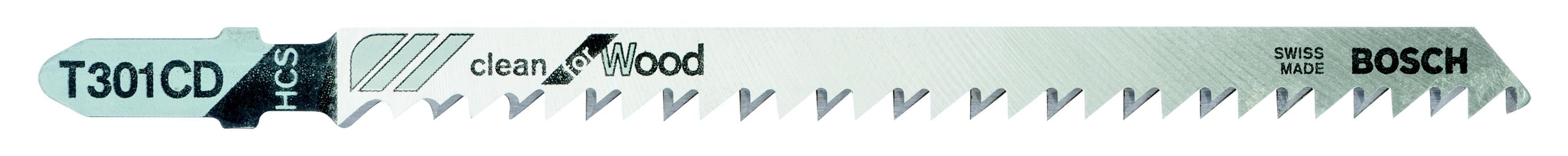 Купить Пилки для лобзика Bosch T301cd (2.608.637.590), Швейцария
