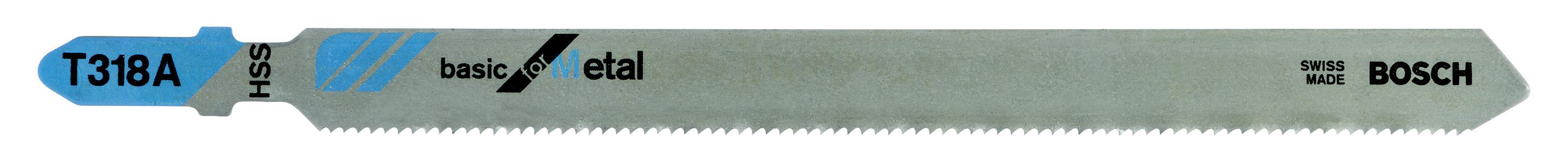 Купить Пилки для лобзика Bosch T318a (2.608.631.319), Швейцария