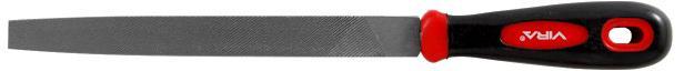 Напильник по металлу плоский Vira 820001  200 мм плоский напильник berger плоский с рукояткой 200 мм bg1150
