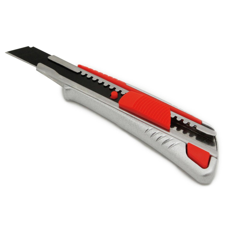 Нож строительный Vira 831309  18мм  металл. корпус нож обойный 18мм 8 лезвий центроинструмент 0212 8