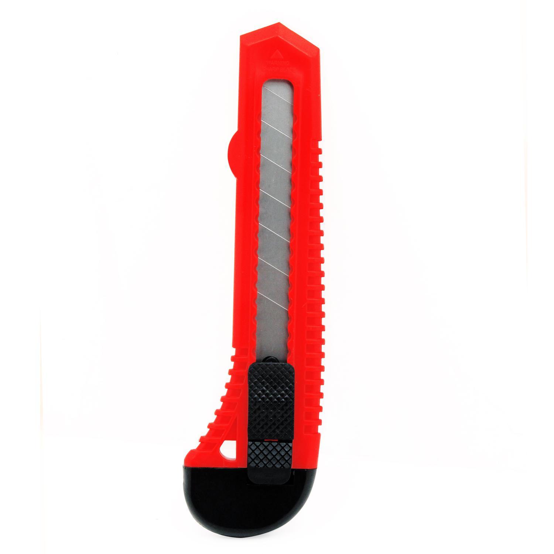 Нож строительный Vira 831301 18мм нож обойный 18мм 8 лезвий центроинструмент 0212 8