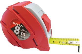 Рулетка Vira 100010 рулетка vira 8мx25мм с нейлоновым покрытием