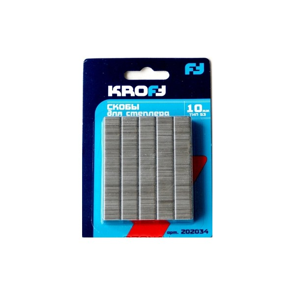 Скобы для степлера Kroft 202040
