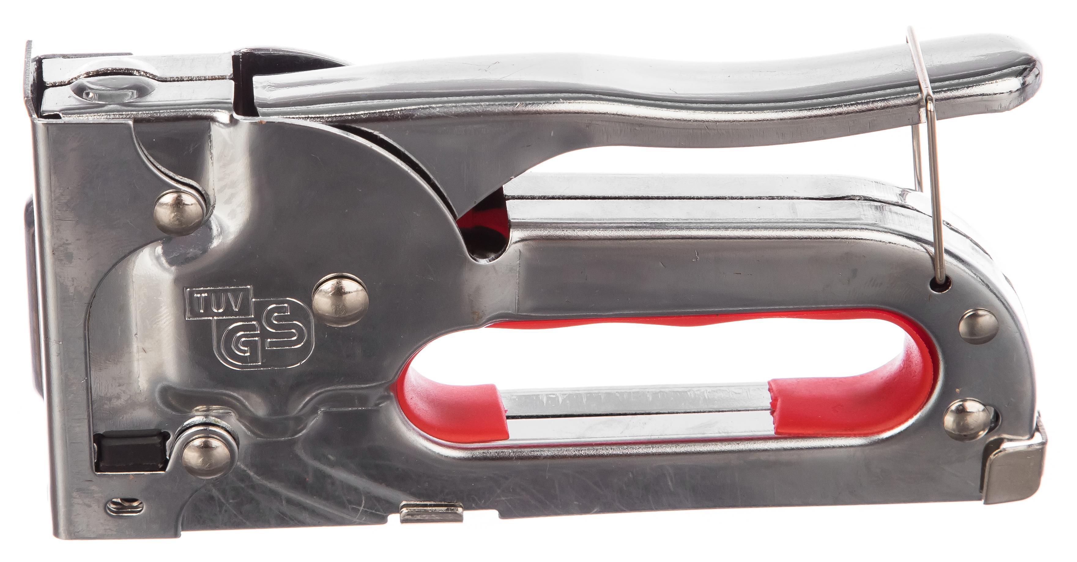 Степлер механический Vira 810408 мебельный регулируемый степлер стальной корпус тип скобы 53 4 14мм gross handwerker 41000