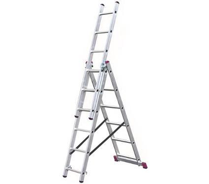 Лестница алюминиевая складная KRAUSE 010360
