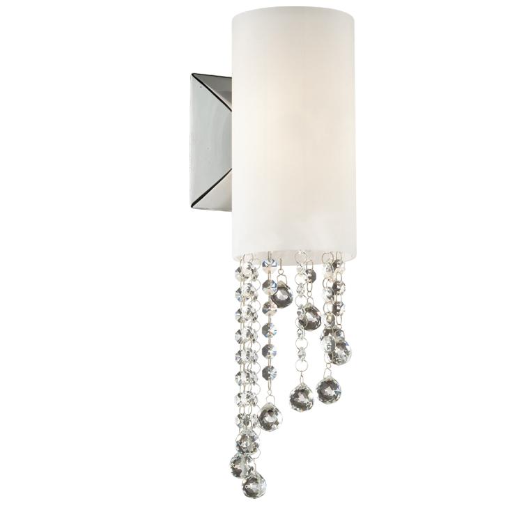 Бра Odeon light 2571/1w подвесной светильник коллекция notts 2571 1 хром белый хрусталь odeon light одеон лайт