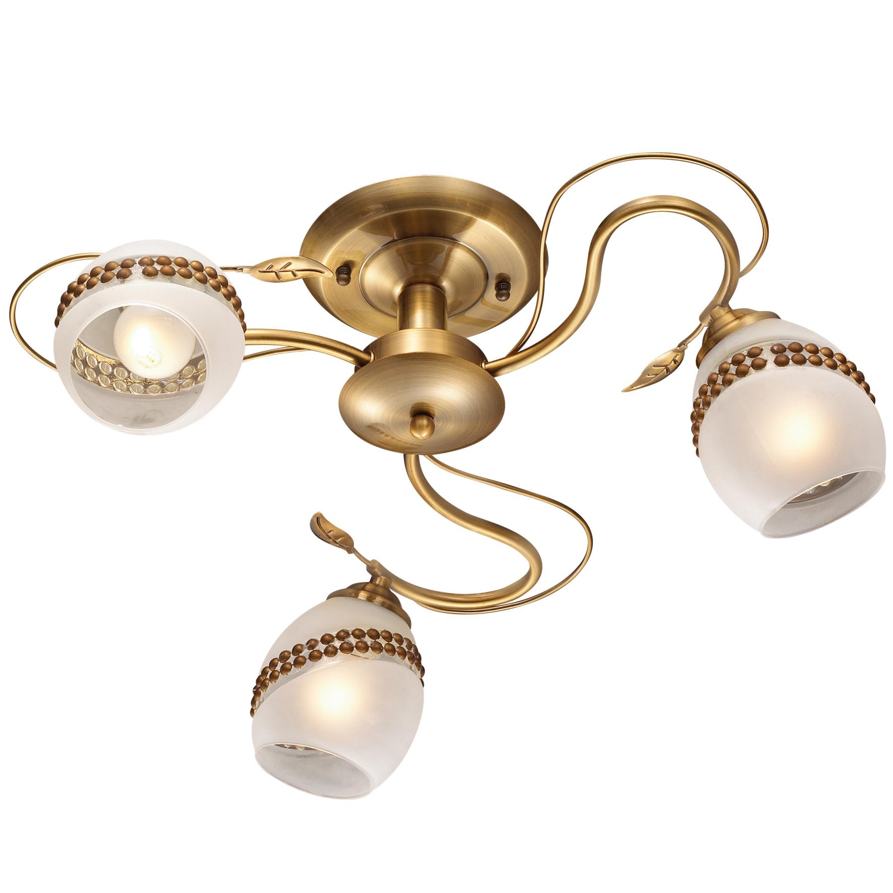 Люстра Odeon light 2459/3 люстра l1011 3 jasmine 3х60вт е27 металл стекло