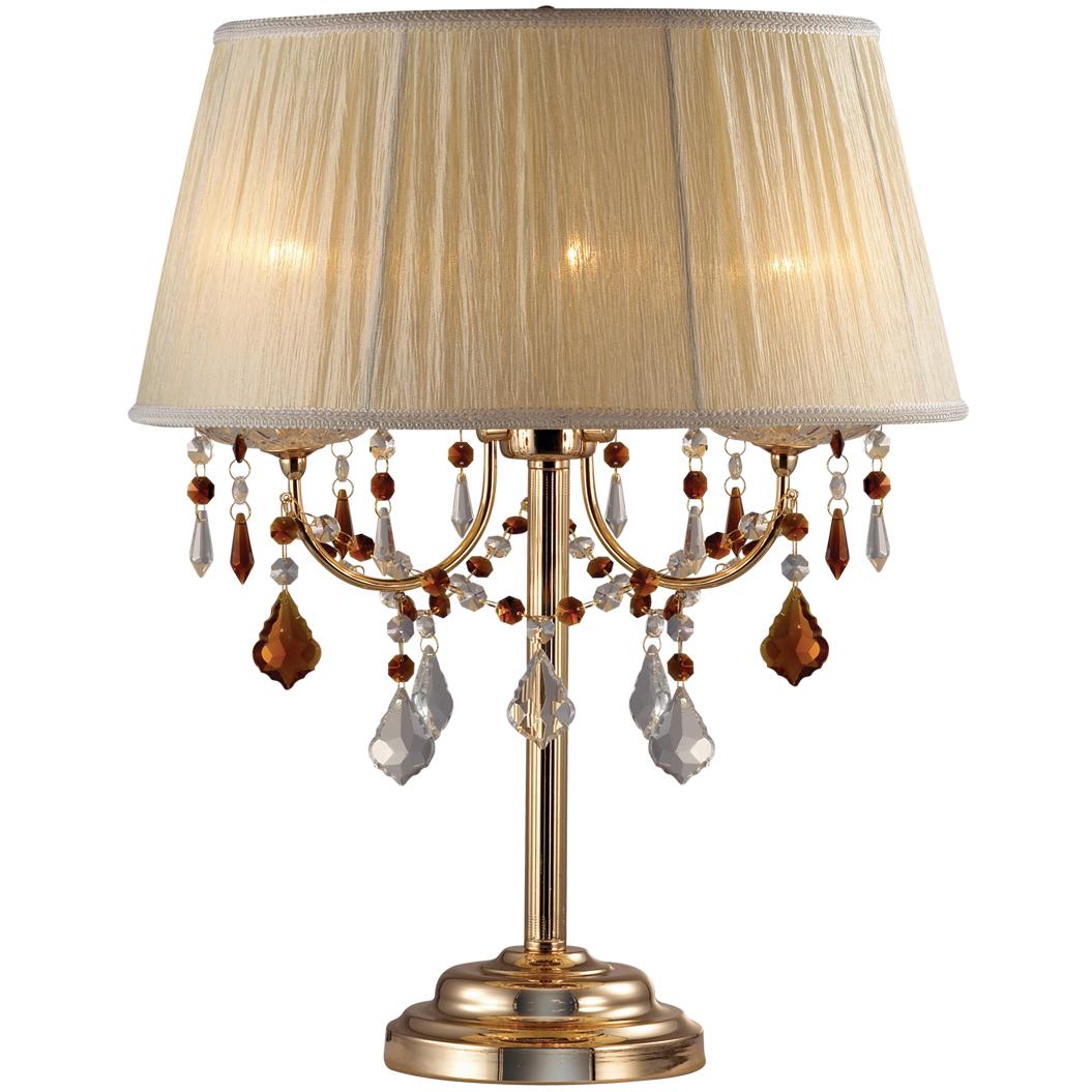 Лампа настольная Odeon light 2534/3t от 220 Вольт