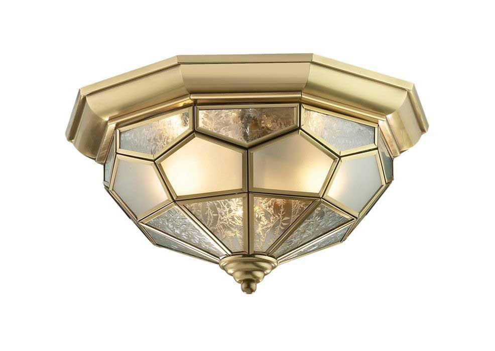 Светильник настенно-потолочный Odeon light 2271/2c odeon light светильник потолочный salona 3xe14x40 вт античная бронза fsolvkq