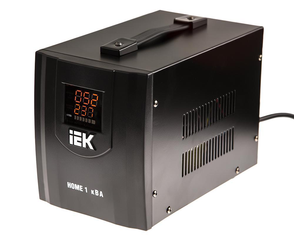 Стабилизатор напряжения Iek СНР1-0- 1 кВА стабилизатор напряжения iek снр1 0 2 ква