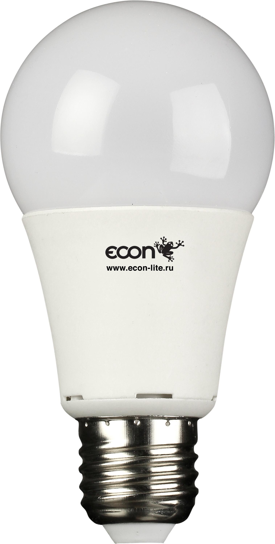 Лампа светодиодная Econ Led a 10Вт e27 4200k a60 orient часы orient una0002w коллекция basic quartz