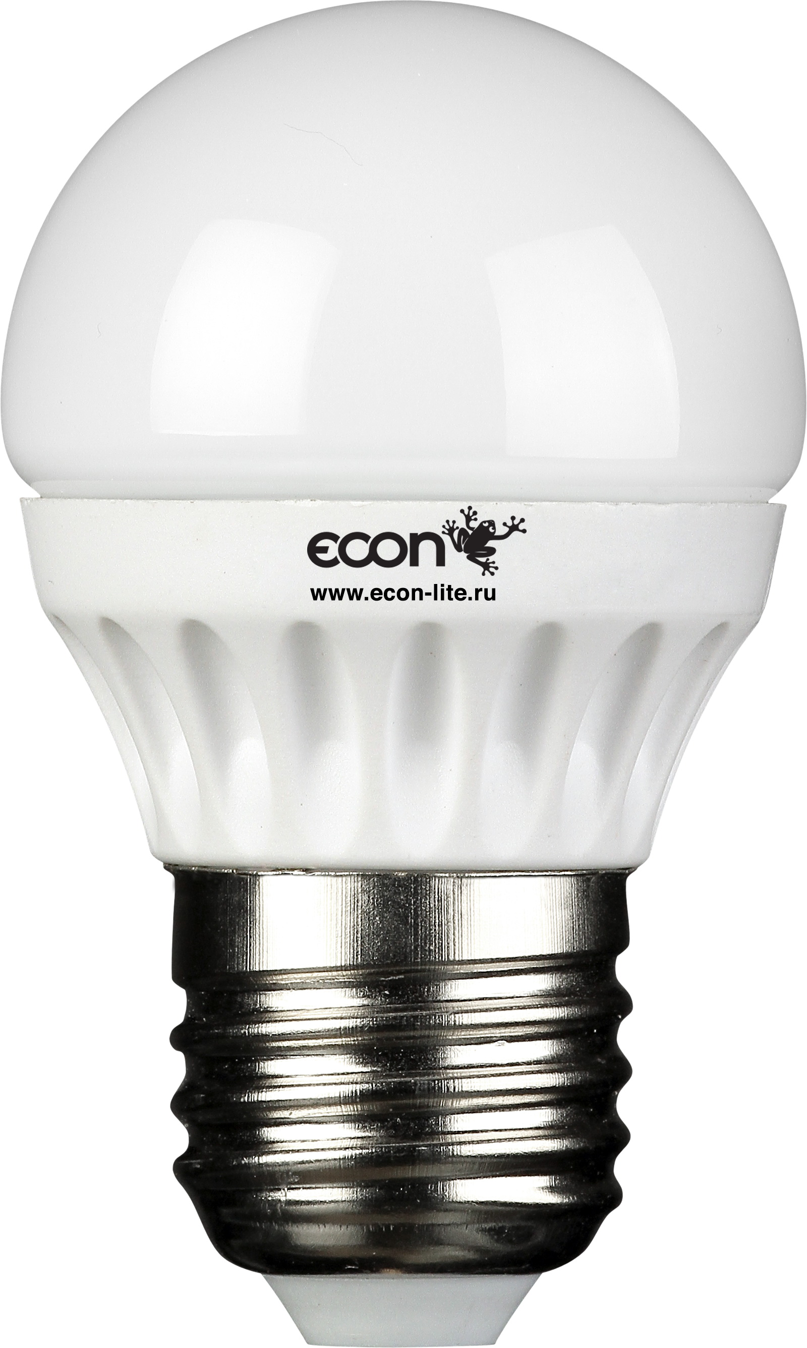 Лампа светодиодная Econ Led p 5Вт e27 3000k p45