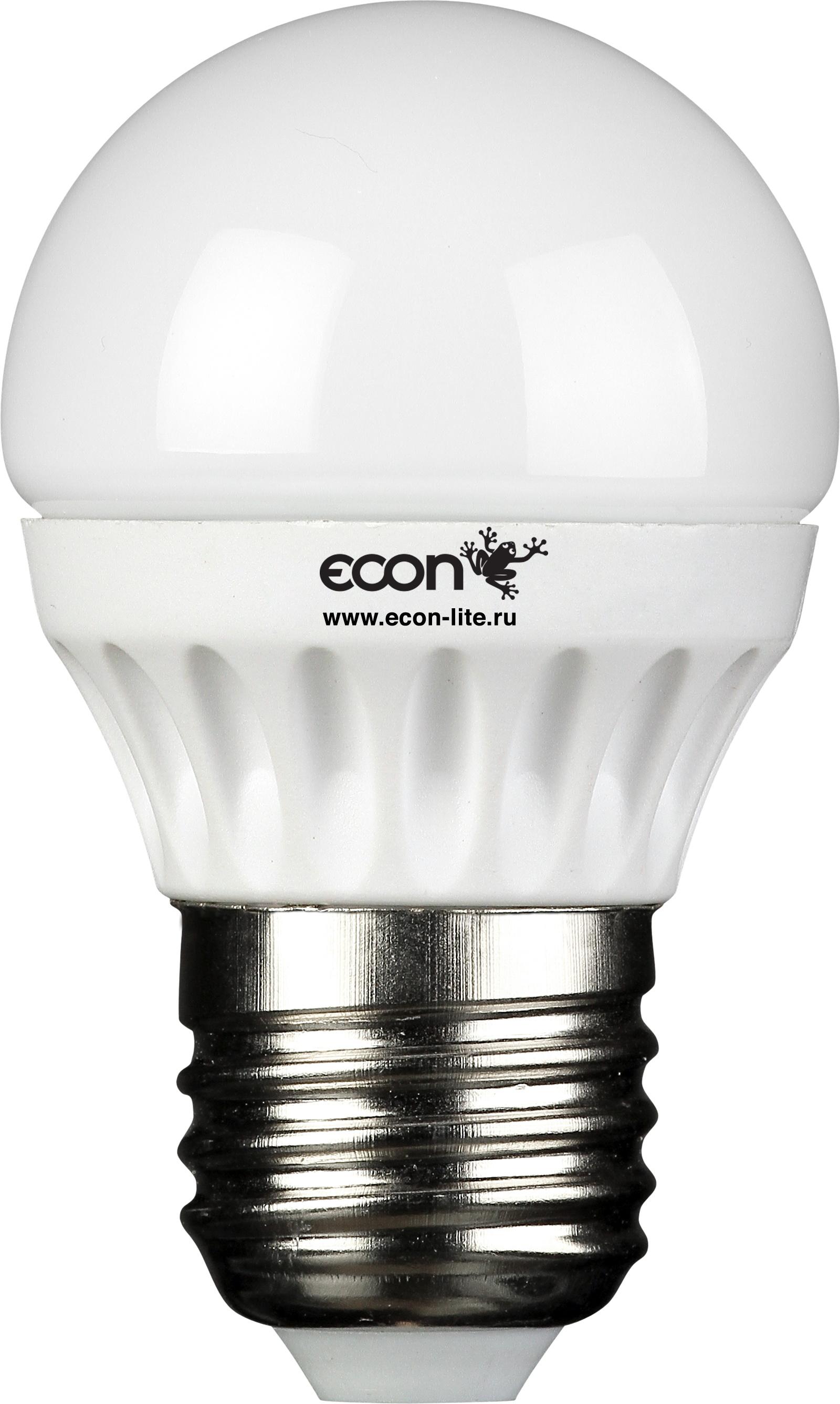 Купить Лампа светодиодная Econ Led p 5Вт e27 4200k p45