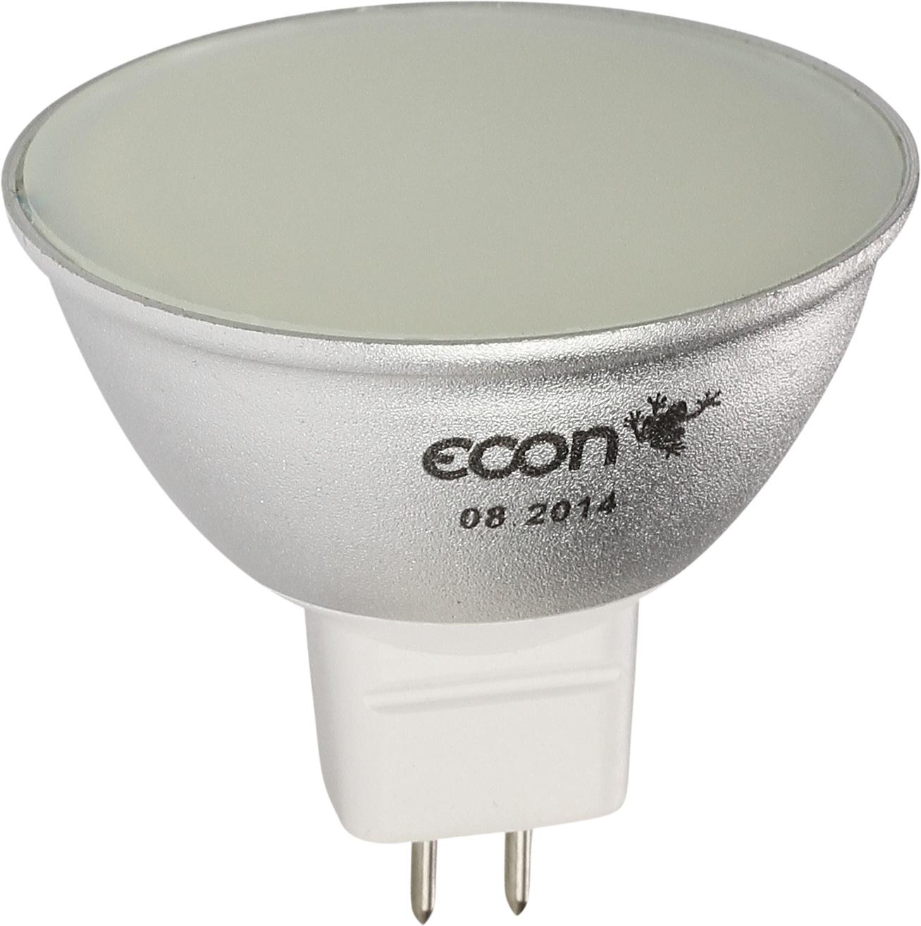 Купить Лампа светодиодная Econ Led mr 5Вт gu5.3 3000k 220v