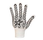 Перчатки ПВХ DOLONI 573  с ПВХ-рис. Звезда