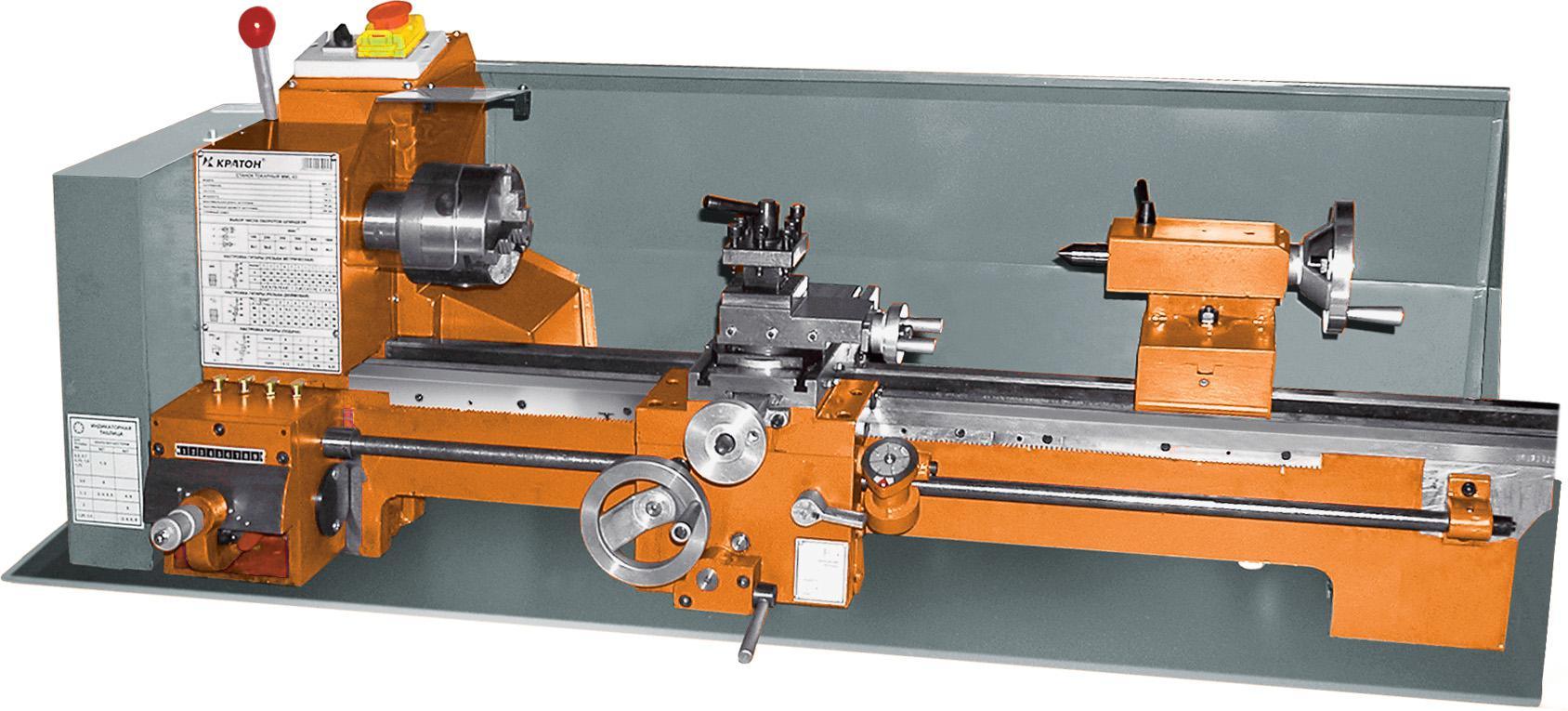 Станок токарный по металлу КРАТОН Mml-03 шлифовальный станок кратон wms 5 03
