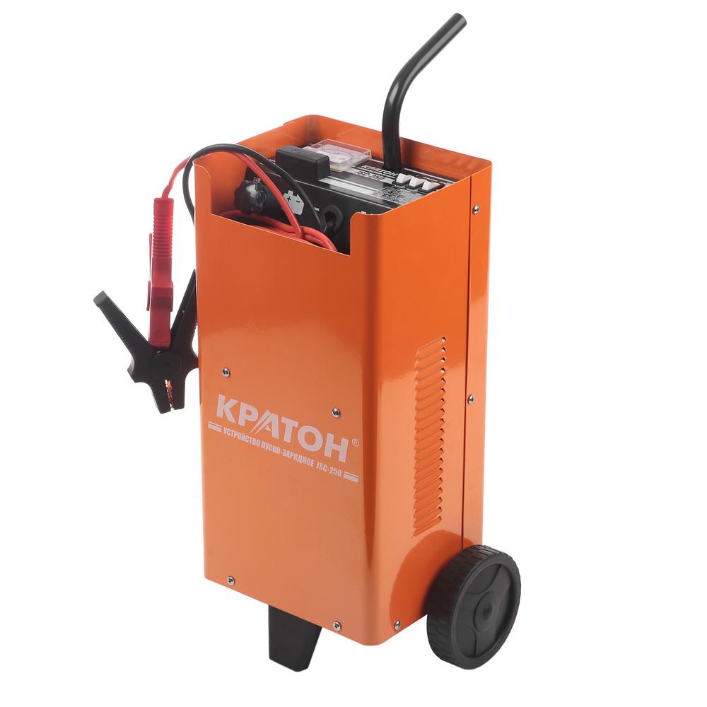 Устройство пуско-зарядное КРАТОН Jsc-250 аккумулятор для легкового автомобиля fb specialist 60b24l fb7000 ач48 470en