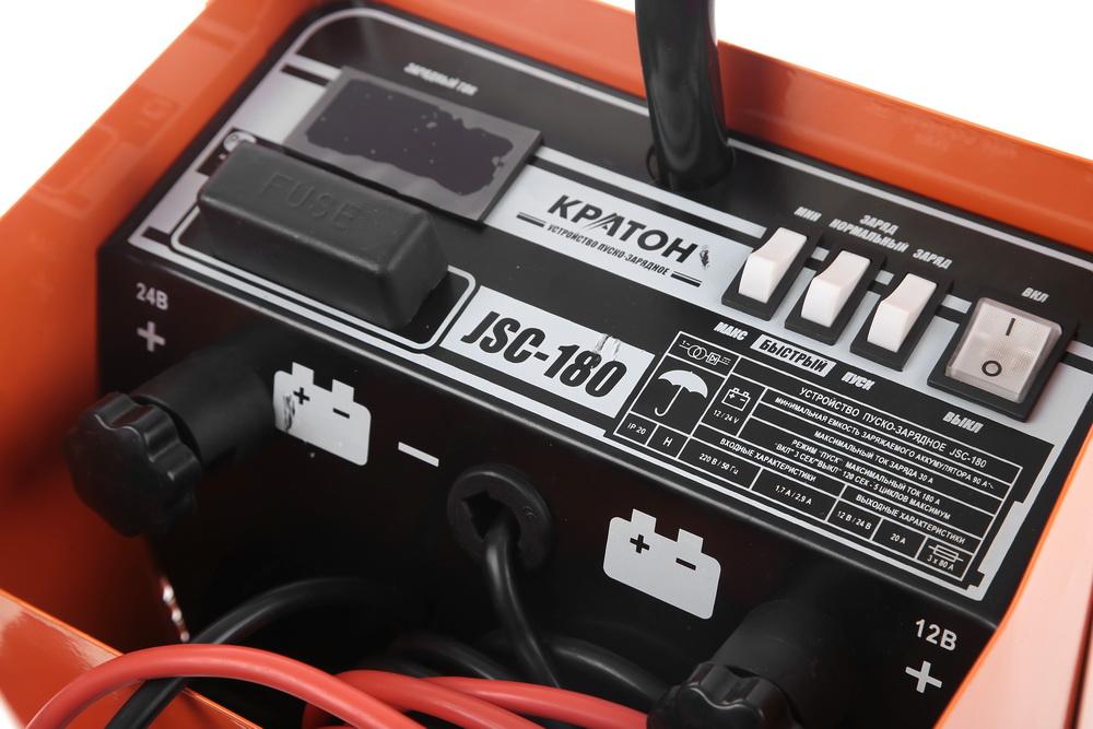 Устройство пуско-зарядное КРАТОН Jsc-180 от 220 Вольт