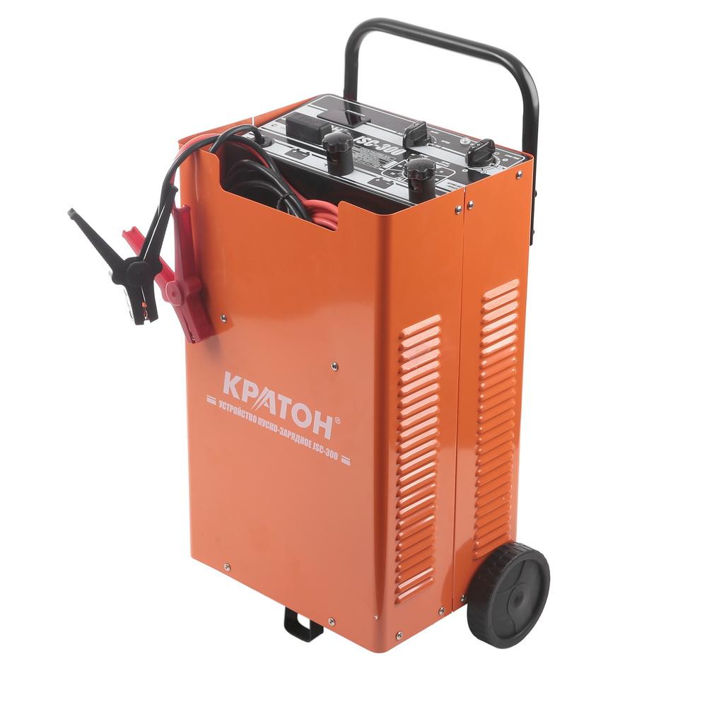 Устройство пуско-зарядное КРАТОН Jsc-300 аккумулятор для легкового автомобиля fb specialist 60b24l fb7000 ач48 470en