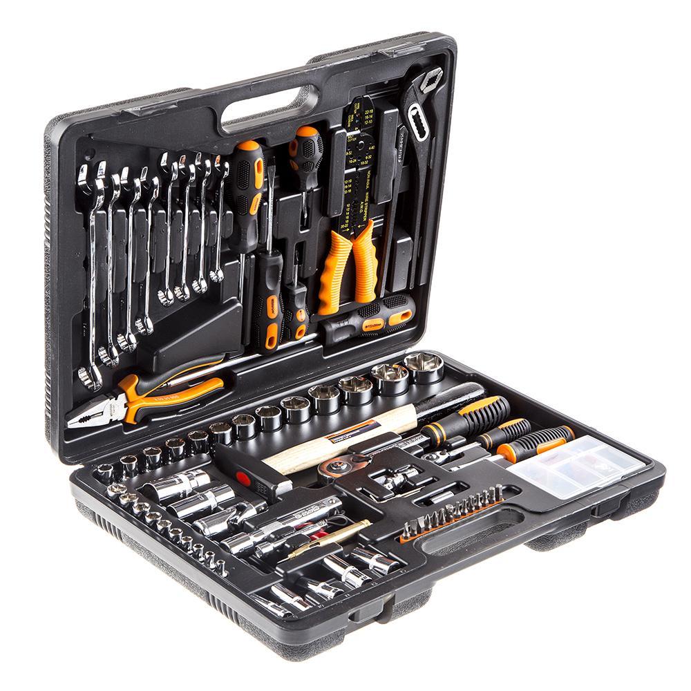 Купить со скидкой Набор инструментов универсальный, 99 предметов КРАТОН Ts-11
