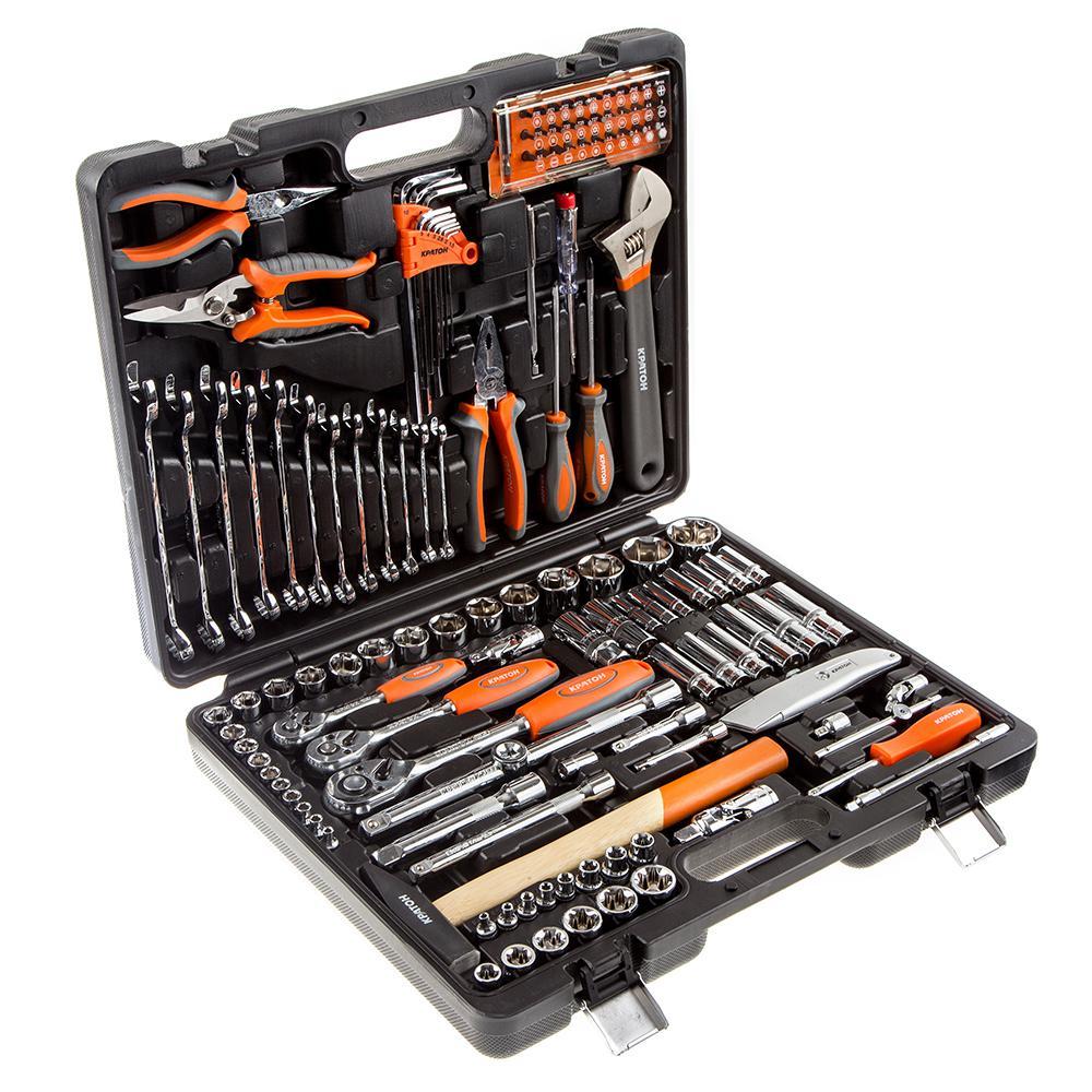 Купить Набор инструментов в чемодане, 131 предмет КРАТОН Ts-30