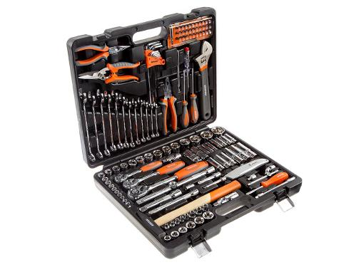 Набор инструментов в чемодане, 131 предмет КРАТОН TS-30