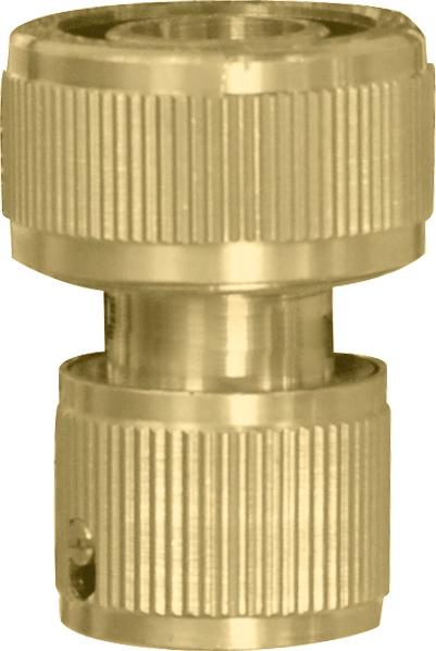 Коннектор КРАТОН латунный быстроразъемный латунный тройник для шланга кратон 50104053