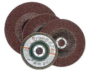 Круг Лепестковый Торцевой (КЛТ) ЛУГА-АБРАЗИВ 115 Х 22 Р 60 (№25) remocolor от 220 Вольт