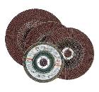 Круг Лепестковый Торцевой (КЛТ) ЛУГА-АБРАЗИВ 115 Х 22 Р 60 (№25) RemoColor