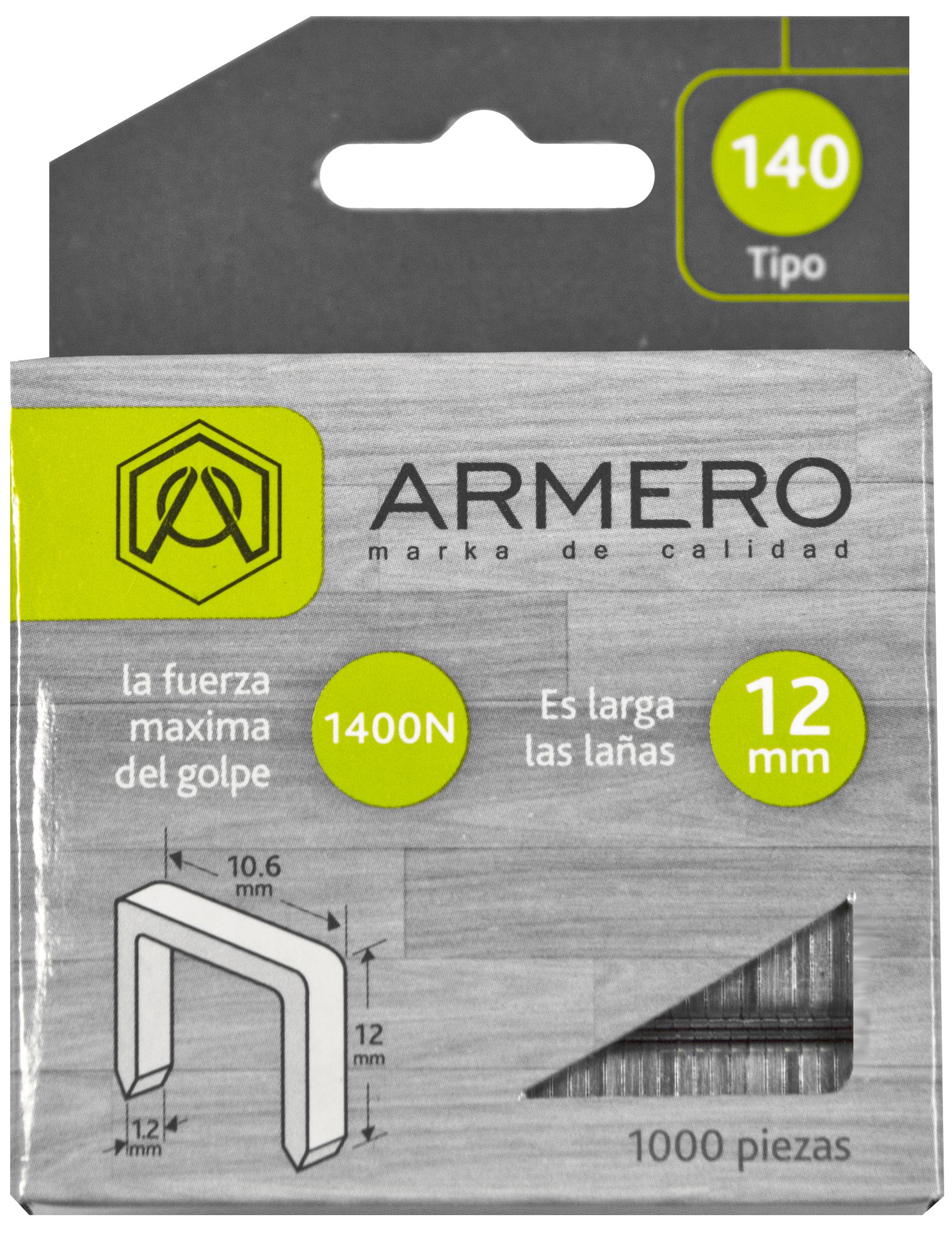 Скобы для степлера Armero Ap12/013 подставка для ножей regent inox block 11 х 11 х 22 см